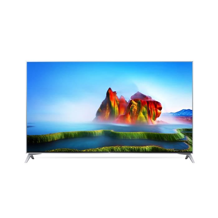 LG 49SJ800V 49″ LED ULTRA HD 4K SMART TV MÉTAL GRIS
